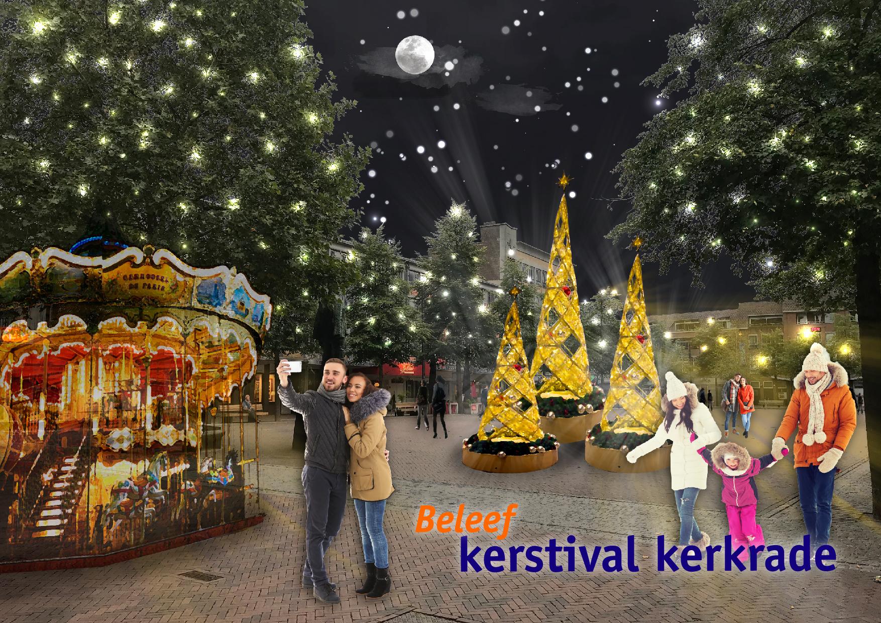 Beleef Kerstival Kerkrade poster - Cafe SuuS